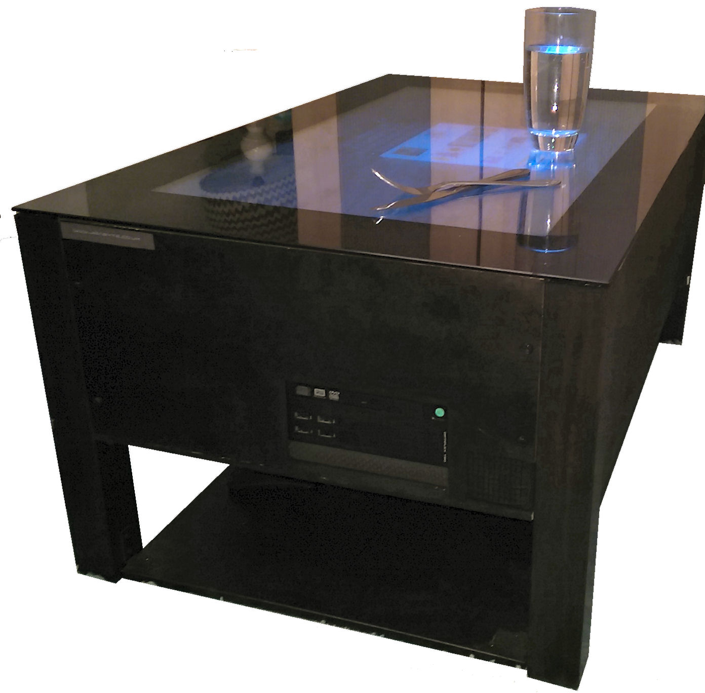 Jigabyte Touch Screen Coffee Table The Digital Heart Of Your