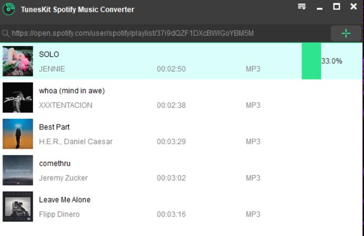 Tuneskit Spotify Music Converter Review - Download Spotify
