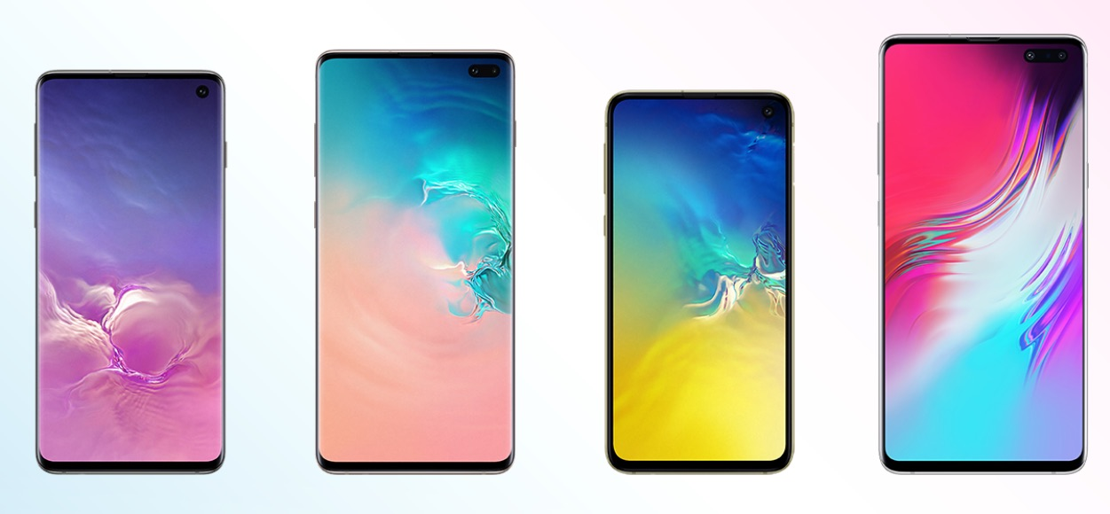 Samsung Galaxy S10, S10e, S10 Plus, S10 5G Model Number (SM
