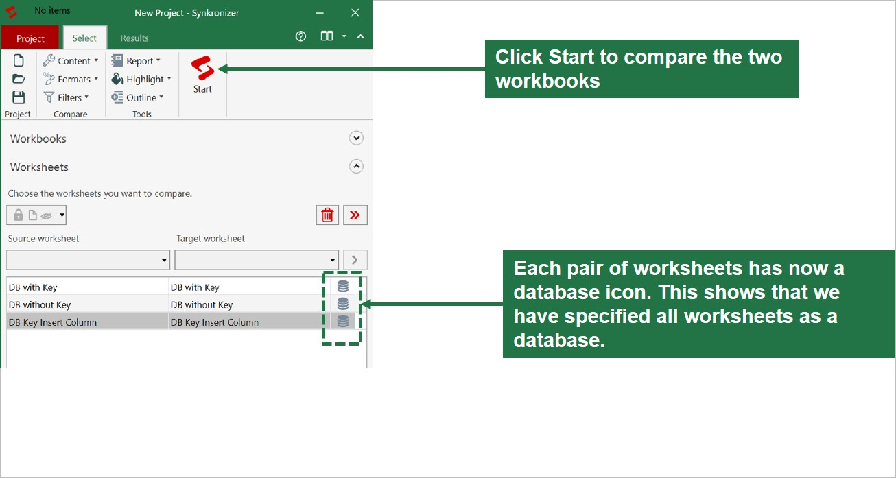 How to compare two excel databases for differences - TechWalls
