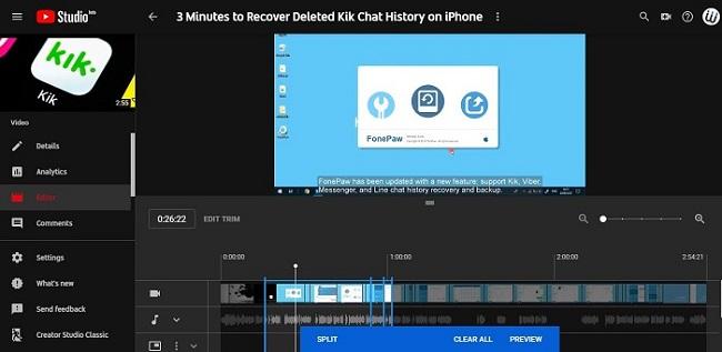 Youtube Video Editor Trim A Youtube Video Techwalls